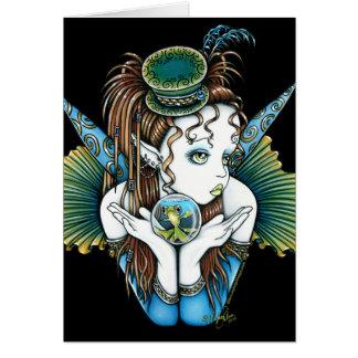 """Brooke"" Pet Fish Couture Fairy Art Card"