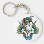 """Brooke"" Pet Fish Couture Fairy Art Keychain"