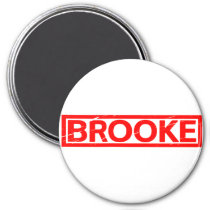 Brooke Stamp Magnet