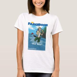 Brooke Trout- myFarcebook.com Fishing Guide T-Shirt