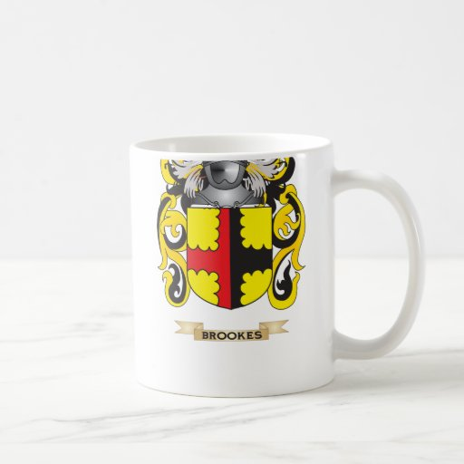 Brookes Coat of Arms (Family Crest) Coffee Mug