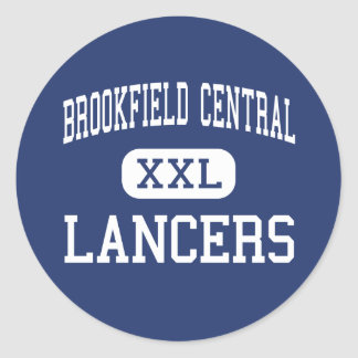 Brookfield Central - Lancers - High - Brookfield Classic Round Sticker