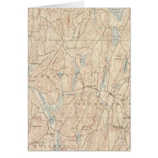 Brookfield, Massachusetts Card
