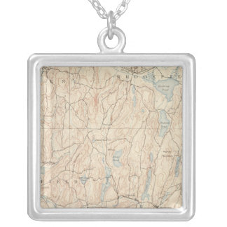 Brookfield, Massachusetts Silver Plated Necklace