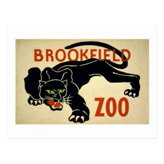 Brookfield-Panther Postcard