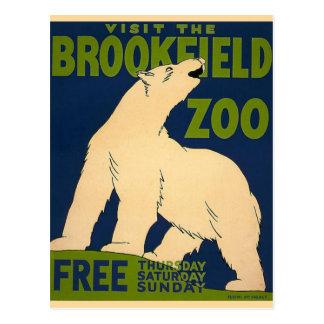 Brookfield-Polar Bear Postcard