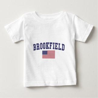 Brookfield US Flag Baby T-Shirt
