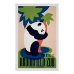 """Brookfield Zoo-By the """"L"""" / Long. Poster"""