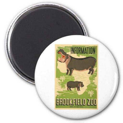 Brookfield Zoo Fridge Magnets