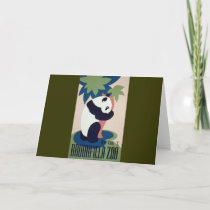 Brookfield Zoo Panda Card