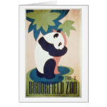 Brookfield Zoo-Panda Card