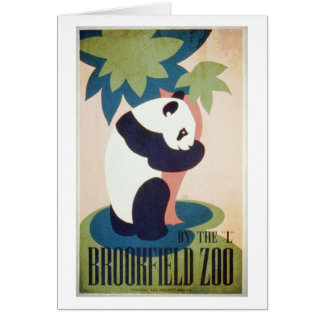 Brookfield Zoo-Panda Card