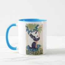 Brookfield Zoo-Panda distressed Mug