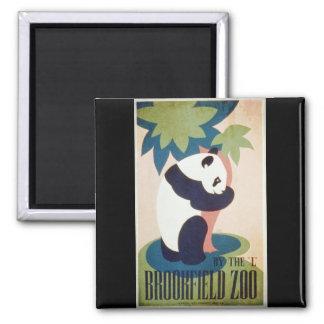Brookfield Zoo-Panda Fridge Magnet