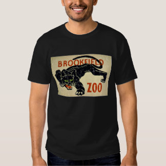 Brookfield Zoo-Panther-distressed T Shirt