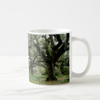 Brookgreen Gardens Classic White Coffee Mug