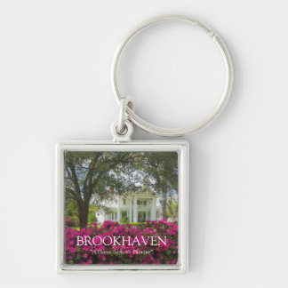 Brookhaven - A Home Seekers Paradise - Spring Silver-Colored Square Keychain