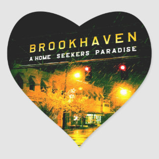 Brookhaven - Home Seeker's Paradise Heart Stickers
