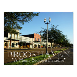 Brookhaven, Mississippi - A Home Seeker's Paradise Postcard