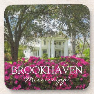 Brookhaven Mississippi Antebellum Home Coasters