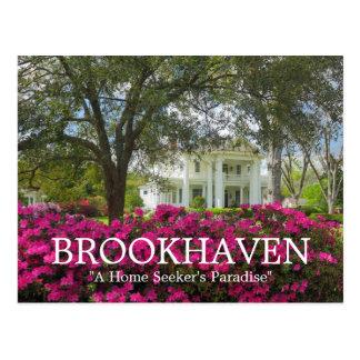 Brookhaven Mississippi Antebellum Spring Postcard