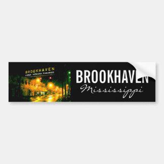 Brookhaven, Mississippi Bumper Sticker Car Bumper Sticker