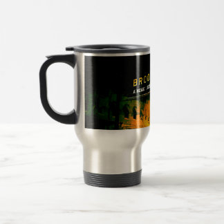 Brookhaven, Mississippi frosted traveler's cup 15 Oz Stainless Steel Travel Mug