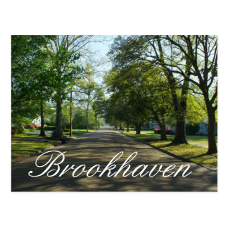 Brookhaven, Mississippi Postcard