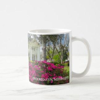 Brookhaven Mississippi Spring Flora Classic White Coffee Mug