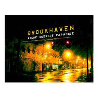 Brookhaven, MS - A Home Seeker's Paradise Postcard