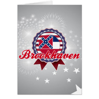 Brookhaven, MS Greeting Card