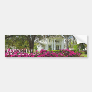 Brookhaven, MS Home Seeker's Paradise Car Bumper Sticker