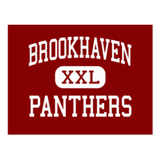 Brookhaven - Panthers - High - Brookhaven Postcard