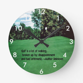 Brookhill Country Club Round Clock