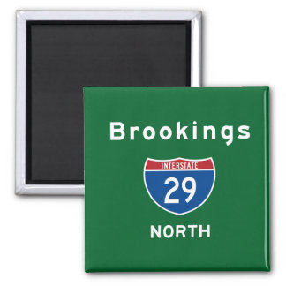 Brookings 29 2 inch square magnet