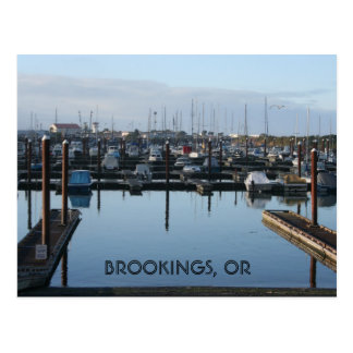 Brookings Harbor Postcard