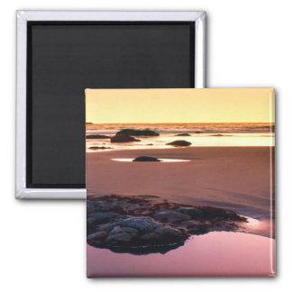Brookings Harbor Sunset Fine Photo Magnet