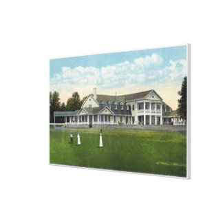 Brooklawn Country Club Women Golfing Canvas Print