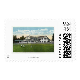 Brooklawn Country Club Women Golfing Postage