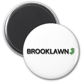 Brooklawn, New Jersey 2 Inch Round Magnet