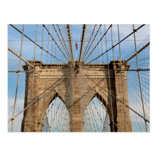 Brooklin bridge, New York Postcard