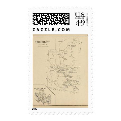Brookline, Hillsborough Co Stamps