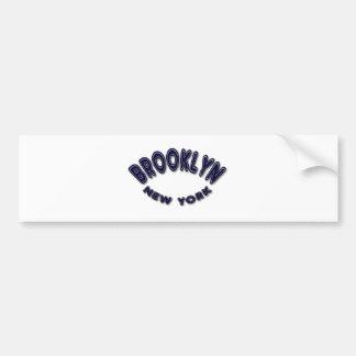 Brookly New York Bumper Sticker