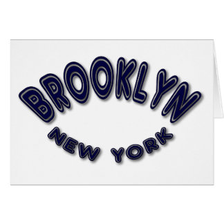 Brookly New York Card