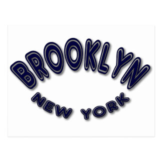 Brookly New York Postcard