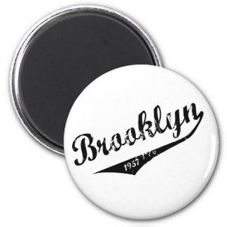 Brooklyn 1957 2 inch round magnet