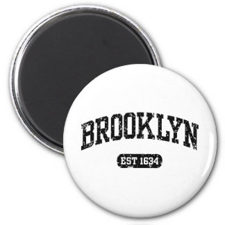Brooklyn 2 Inch Round Magnet