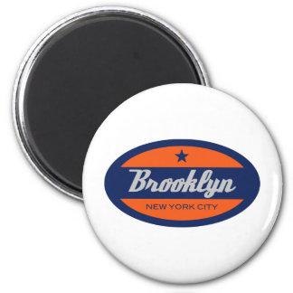 *Brooklyn 2 Inch Round Magnet