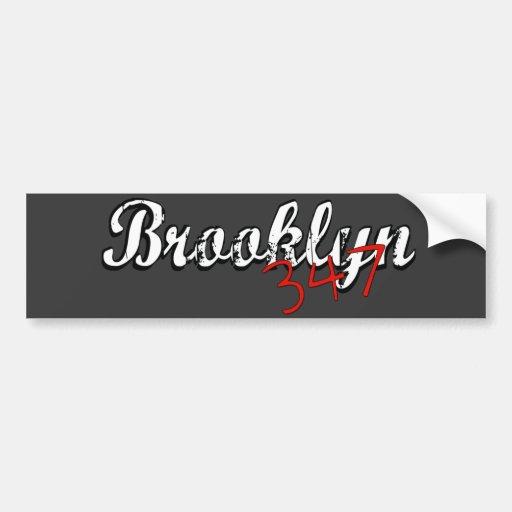 Brooklyn 347 pegatina para auto