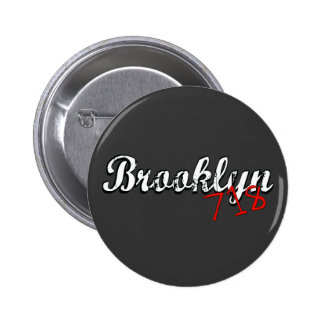 Brooklyn 718 button